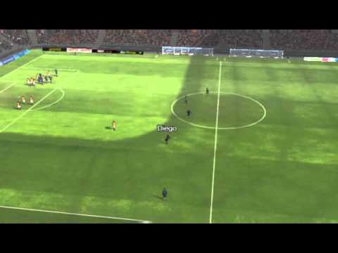 Galatasaray ile Fenerbahçe - Gol Diego 12 dakika