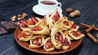 Хрустящее печенье с яблоками - Рецепты от Со Вкусом