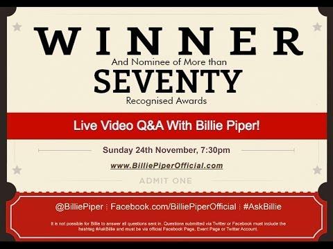 Billie Piper Live Video Q&A