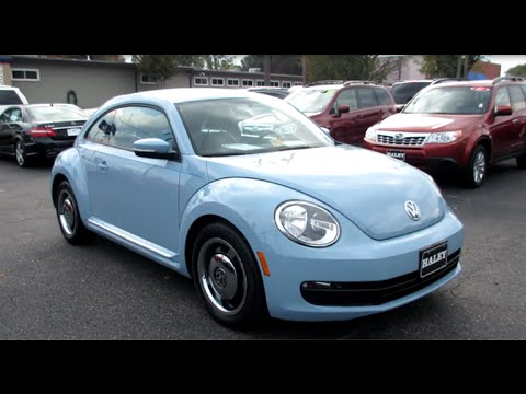 2012 Volkswagen Beetle Walkaround, Start up, Tour, Exhaust and Overview