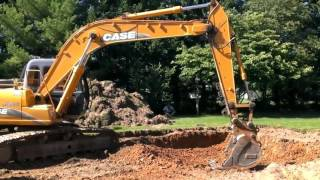 Earth Mover Digging and filling dumptruck Case Track hoe Excavator Dirt Heavy Equipment digger