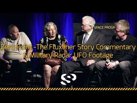 Zero Point The Fluxliner story panel & Military radar UFO footage, Secret Space Program 2014