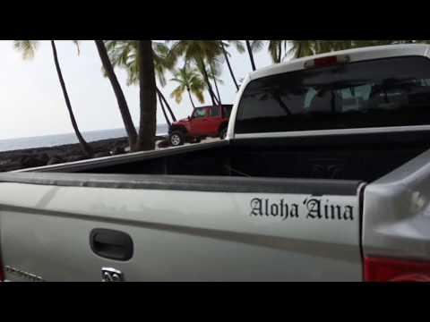 A Local Beach Day- Honaunau, Hawaii