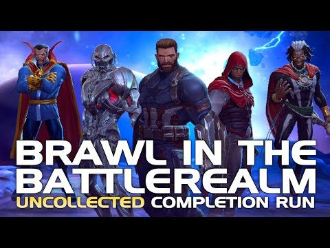 Brawl in the Battlerealm: Full Uncollected Completion Run & Cutscenes (w/ Half Suicides) | MCoC