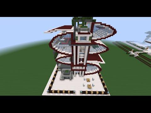Minecraft pe casa moderna enorme descarga doovi for Minecraft moderno