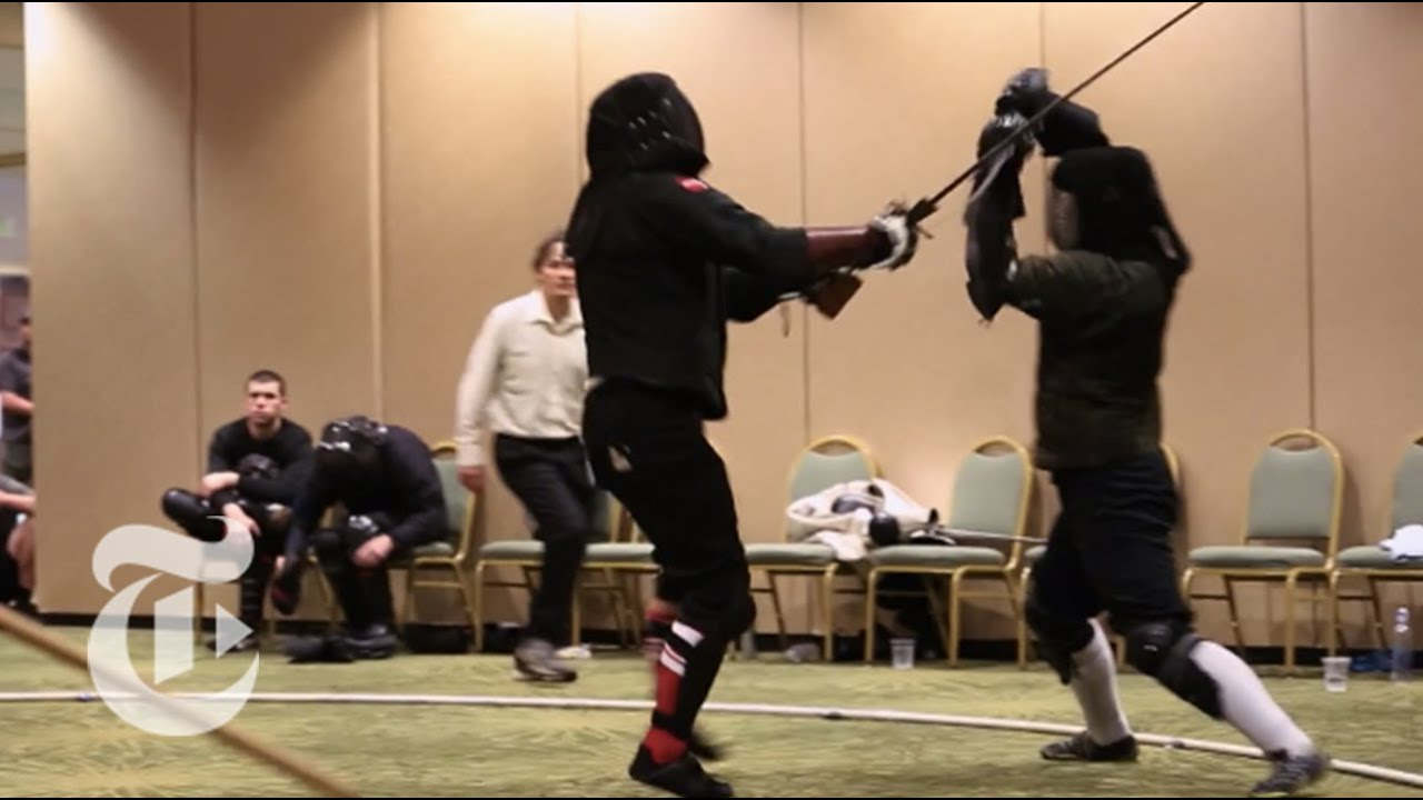 Inside the World of Longsword Fighting | The New York Times