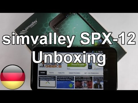 Simvalley SPX-12 im Unboxing [Deutsch - German]
