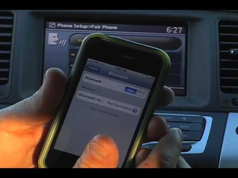 2010 Nissan Murano Bluetooth Pairing