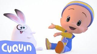 Cuquin's adventures: the bunny race!   videos & cartoons for babies