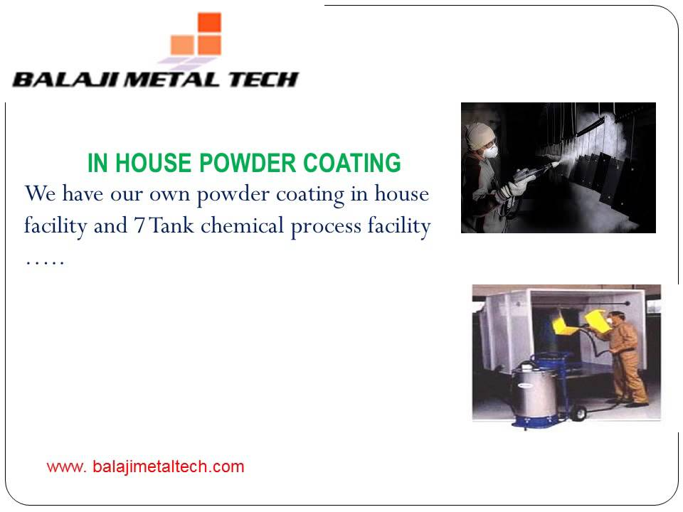 Balaji Metal Tech specialized in Sheet metal Works
