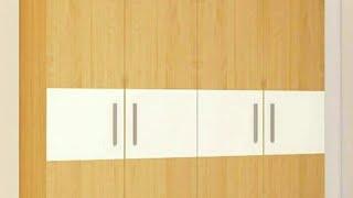 Wooden wardrobe ideas   wood almirah desogns   wardrobe furniture