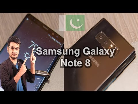 Samsung Galaxy Note 8 Launched | Price in Pakistan,Release Date , Specs and Features