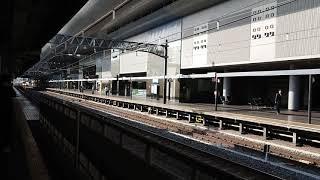 227系1000番台(試運転列車6B)京都駅入線