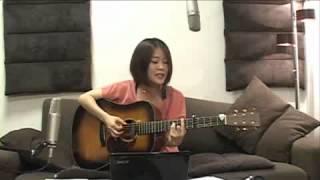 2012/7/15(日) 森恵さんのUSTREAMライブより Megumi Mori is a rising...