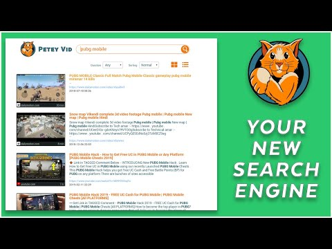 The Best Search Engine For Videos On The WEB - PeteyVid
