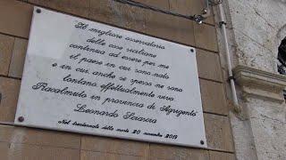 Racalmuto, l'uomo che ha comprato la casa di Sciascia:
