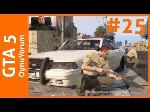 GTA 5 OynuYorum - 25. Bölüm: Sağlam Bir Soygun (Ve Gizemli İşaretler)