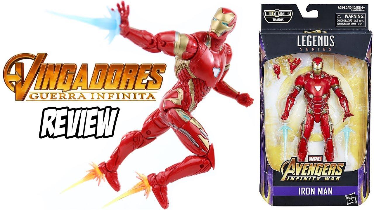 9e476cd0bee Review Homem de Ferro Mark 50 Marvel Legends filme Vingadores Guerra  Infinita - brinquedo boneco