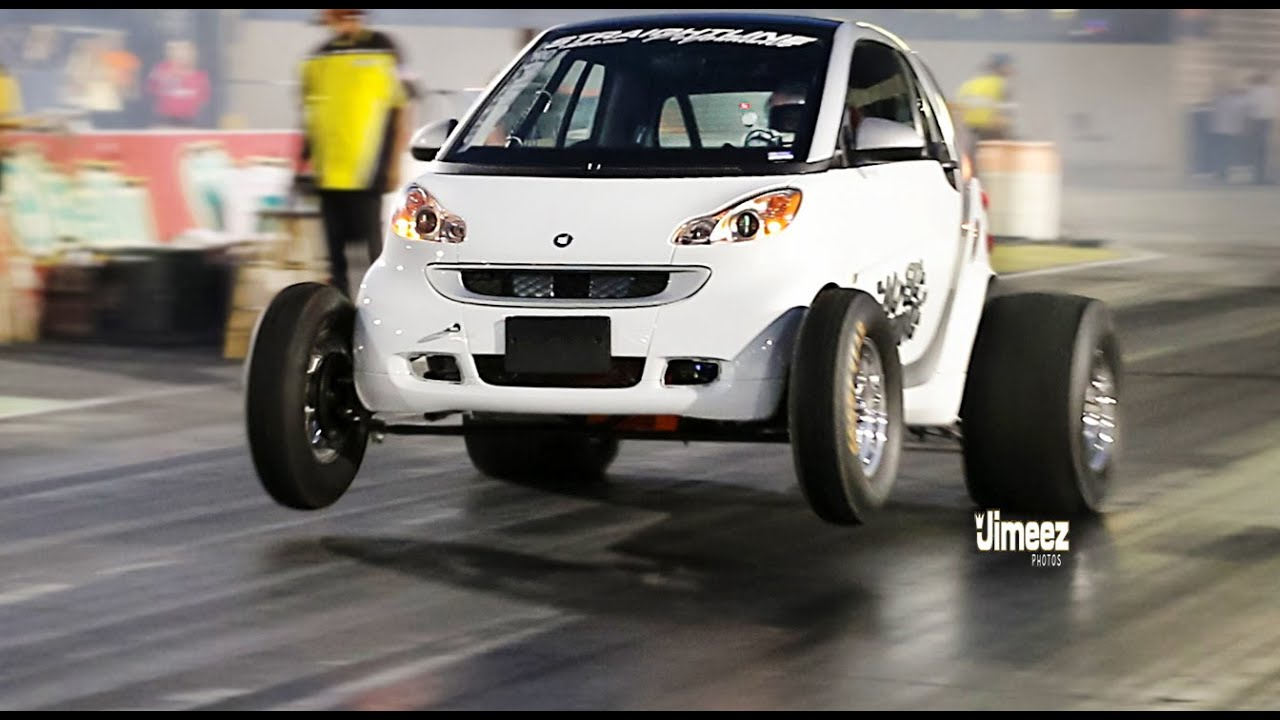 Fastest Car In The World 2015 >> 9 SEC SMART CAR! WORLDS FASTEST SMART CAR SETS NEW RECORD ...