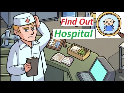 Find Out Hospital - DISCOVERY - Find Something and Hidden Objects