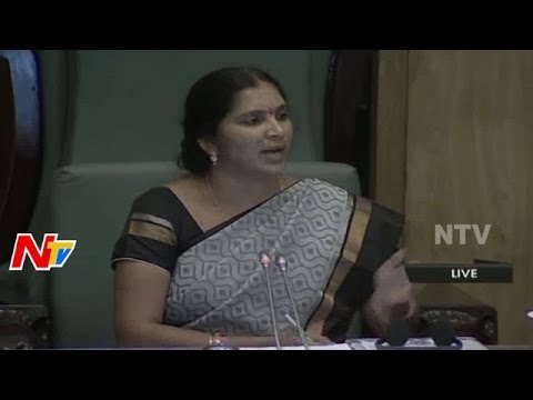 Deputy Speaker Padma Devender Reddy Fires on T BJP MLAs | Telangana Assembly Monsoon Sessions