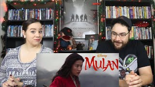 Mulan (2020) - Official Trailer Reaction / Review
