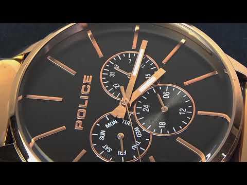 d0f27bfbc7 POLICE(ポリス)腕時計SWIFT スウィフト ブラック/ローズゴールド