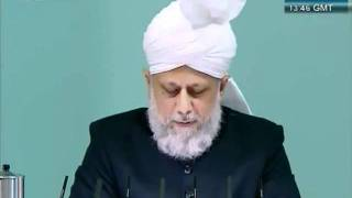 Urdu Friday Sermon 4 November 2011, Blessings of Financial Sacrifice by Ahmadiyya Muslim_clip11.flv