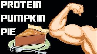 Bodybuilding Pumpkin Pie (high Protein, Low Calorie)
