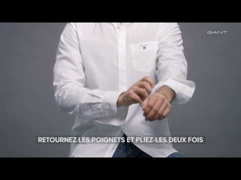 GANT - Comment bien retrousser vos manches (FR)