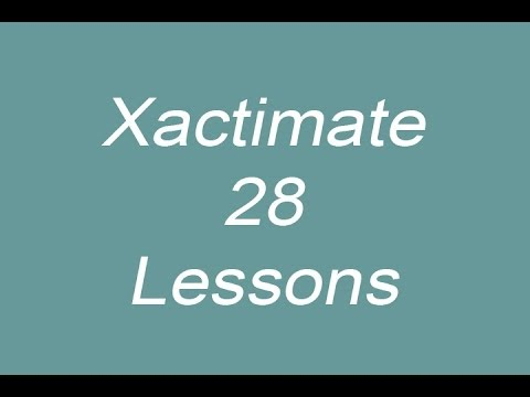 Xactimate 28 Training Videos, Module 1 Introduction
