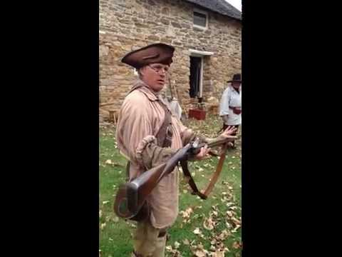 Chesapeake Colonial Frontier Skills: Loading a Flintlock Firearm