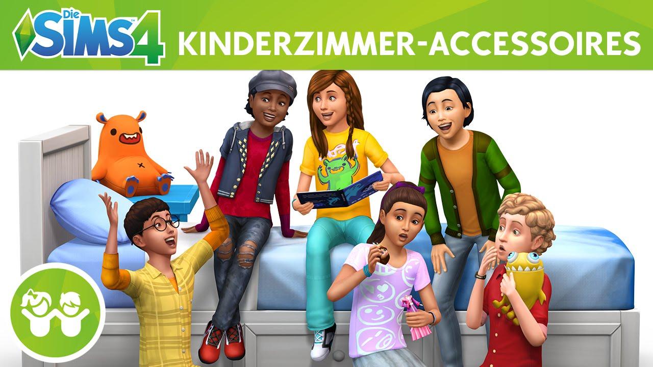 Die sims 4 kinderzimmer accessoires offizieller trailer for Accessoires kinderzimmer
