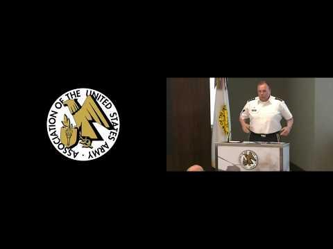 298th AUSA ILW Breakfast - LTG Ben Hodges, US Army Europe - June 20 2017