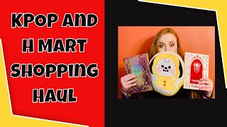 KPOP Store in USA and H Mart Asian Market Shopping Haul - Doraville, Georgia