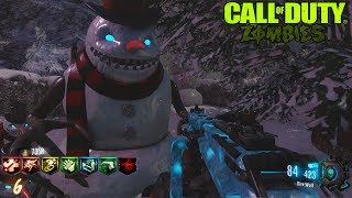 TINY CHRISTMAS CUSTOM ZOMBIES CON EASTER EGG Y BATALLA FINAL | BLACK OPS 3 ZOMBIES MOD TOOLS