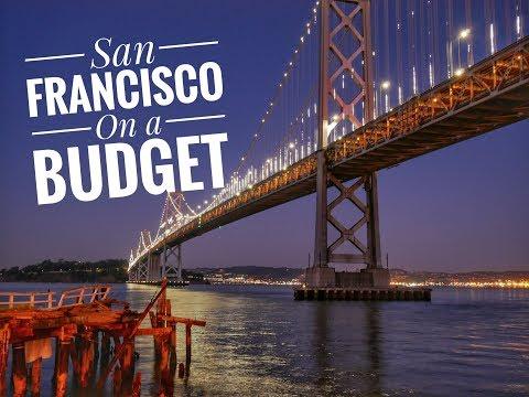 San Francisco on a Budget - Powell St, Embarcadero, Bay Bridge, Golden Gate Bridge, Lombard St
