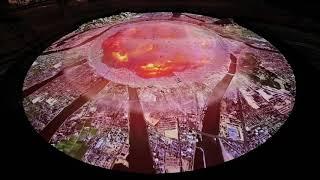 「広島平和記念資料館」原爆投下CG映像 被爆再現人形 検索動画 13
