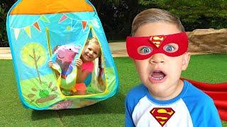 Diana y Roma se convierten en superhéroes