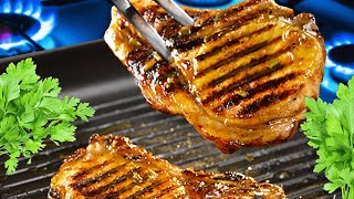 👌 How to Fry Pork Chops without Flour in the Pan ✅