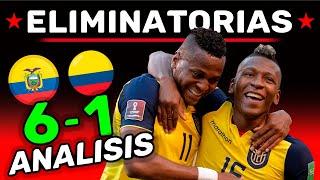 ECUADOR hace TRIZAS a COLOMBIA 6-1 - Analísis del Partido - ELIMINATORIAS 2020