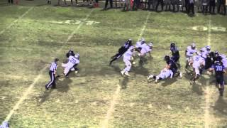 Stockdale recovers a Frontier fumble