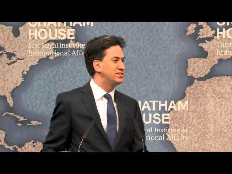 Event Speech: Britain's Place in the World: A Labour Perspective