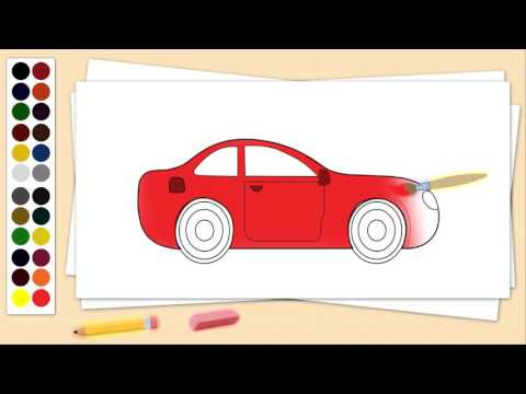 Learn Drawing | Coloring and Alphabets Kids Education - fun mystery objects let's see what it is ...