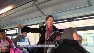 Yvelines | Saint-Quentin-en-Yvelines : la poésie s'invite dans les bus