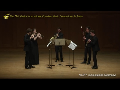 9th Osaka International Chamber Competition: Arundos Quintet & Qunst Quintet