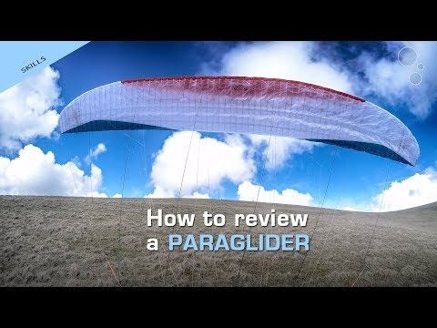 How to review a paraglider (Advance OMEGA XALPS 2)