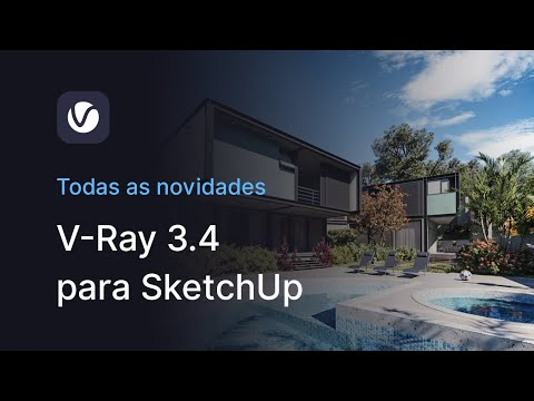 VRAY 3.4 p/ SKETCHUP - TUTORIAL COMPLETO