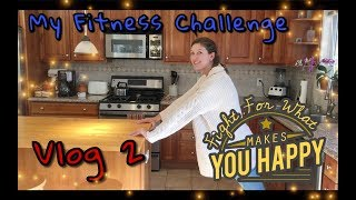 Fitness Challenge Vlog 2. How can exercise fit into your busy life? | Kelsey_tube