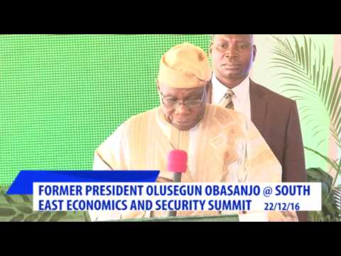 SOUTH-EAST SUMMIT: Obasanjo Urges Ndigbo To Look Inwards To Develop Zone